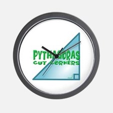 Pythagoras Wall Clock