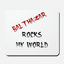 Balthazar Rocks Mousepad