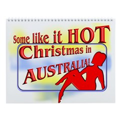 Christmas in Australia Wall Calendar