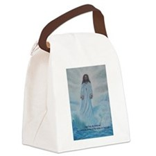 Jesus Walking On The Water Canvas Lunch Bag