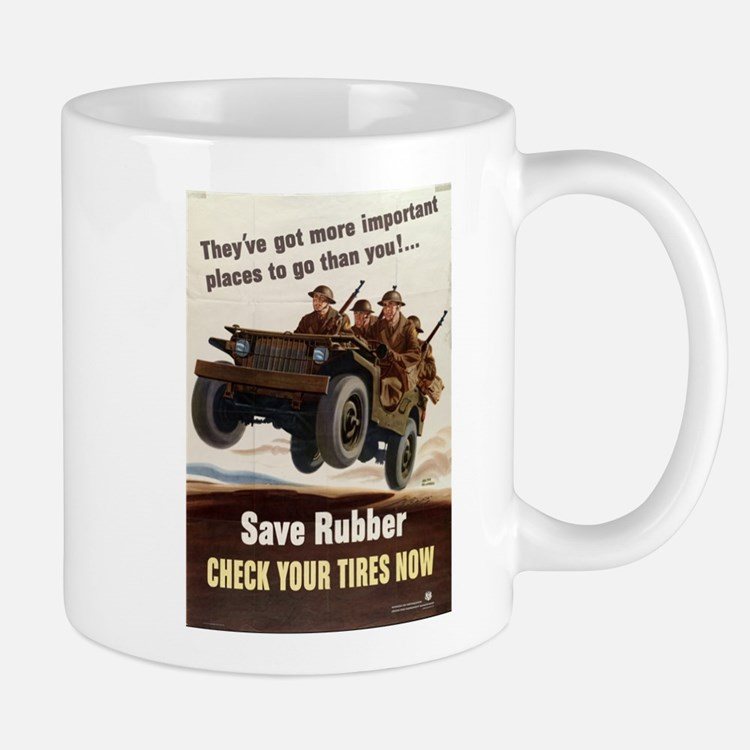 SAVE RUBBER Mug
