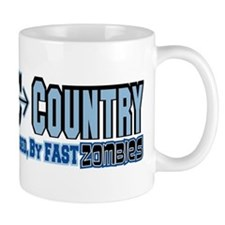 Cross Country Zombies Chasing Mug