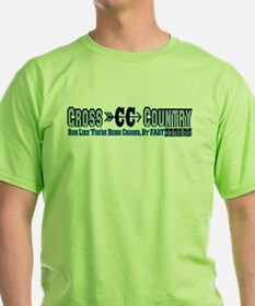 Cross Country Zombies Chasing T-Shirt