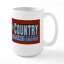 Cross Country Zombies Chasing Mug