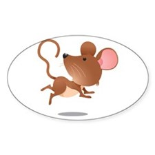 Cute and Cuddly Baby Mouse Decal