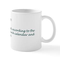 Mug: World was created, according to the Eastern O