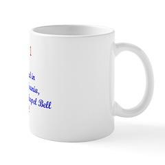 Mug: Liberty Bell arrived in Philadelphia, Pennsyl