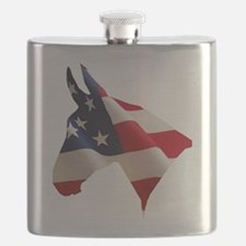 Proud American Home Flask