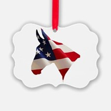 Proud American Home Ornament