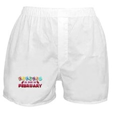 Brayden is Due in February.png Boxer Shorts