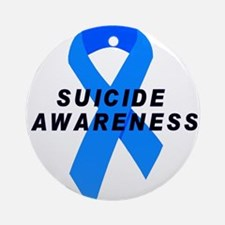 Suicide Awareness Ornament (Round)