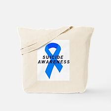 Suicide Awareness Tote Bag