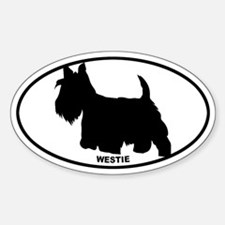 Westie BW Decal