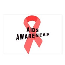 AIDS Awareness Postcards (Package of 8)