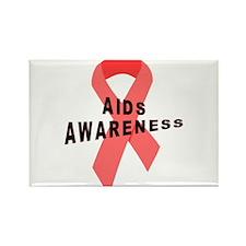 AIDS Awareness Rectangle Magnet