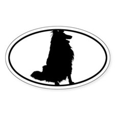 Collie BW Decal