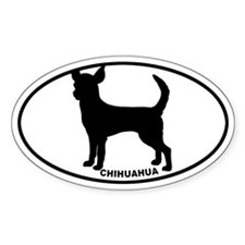 Chihuahua BW Decal