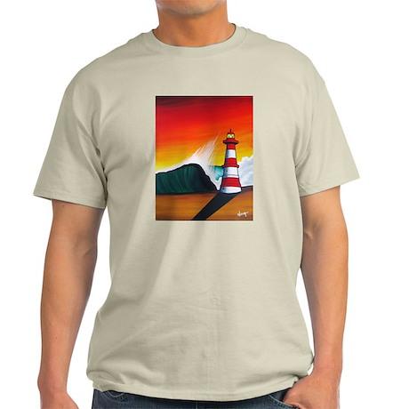 Todos Santos Big Wave Event 2010 Light T-Shirt
