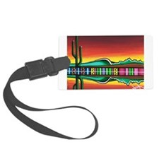 Sarape Horizon Luggage Tag
