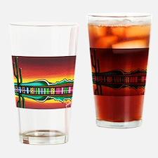Sarape Horizon Drinking Glass