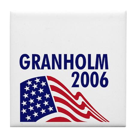 Granholm 06 Tile Coaster