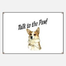 Talk to the Paw! Little Dott Banner