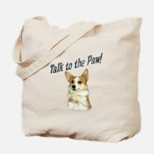 Talk to the Paw! Little Dott Tote Bag