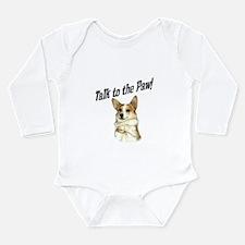Talk to the Paw! Little Dott Long Sleeve Infant Bo