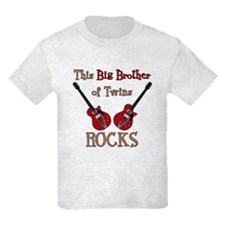 Big Bro Rocks Twins T-Shirt