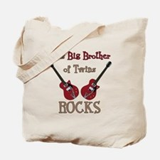 Big Bro Rocks Twins Tote Bag