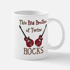 Big Bro Rocks Twins Mug