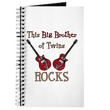 Big Bro Rocks Twins Journal