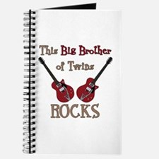 Big Bro Rocks Twins Journal