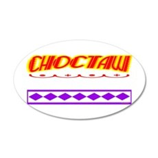 CHOCTAW INDIAN Wall Decal