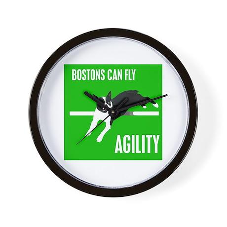 Boston Agility Wall Clock