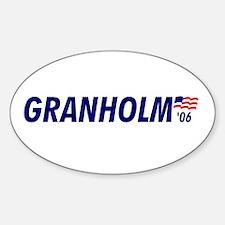 Granholm 06 Oval Decal