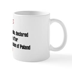 Mug: UK, France, NZ, Australia, declared war again