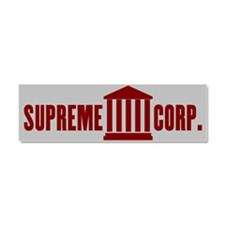 Citizens United = Supreme Corp. Car Magnet 10 x 3