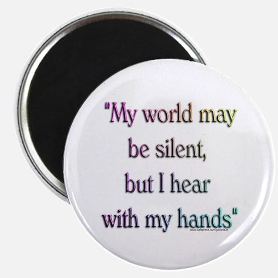 Silent World Magnet