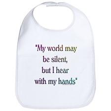 Silent World Bib