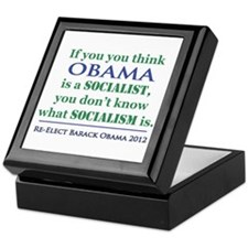 Obama Is No Socialist Keepsake Box
