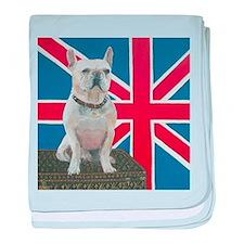 """""""French Bulldog"""" baby blanket"""