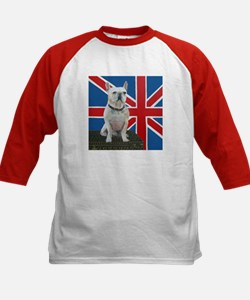 """French Bulldog"" Kids Baseball Jersey"