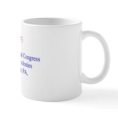 Mug: First U.S. Continental Congress of 55 delegat