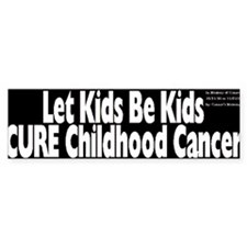 Childhood Cancer Bumper Bumper Sticker