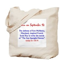 Cute Defense of fort mchenry Tote Bag