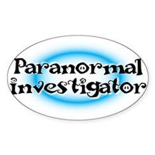 Paranormal investigator Decal