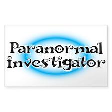 Paranormal investigator Decal