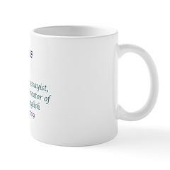 Mug: Samuel Johnson, poet, essayist, novelist, bio