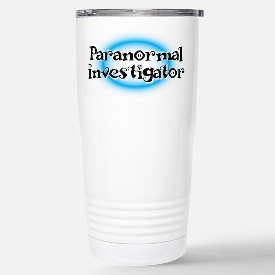 Paranormal investigator Stainless Steel Travel Mug